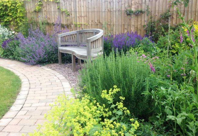 Amersham garden after installation