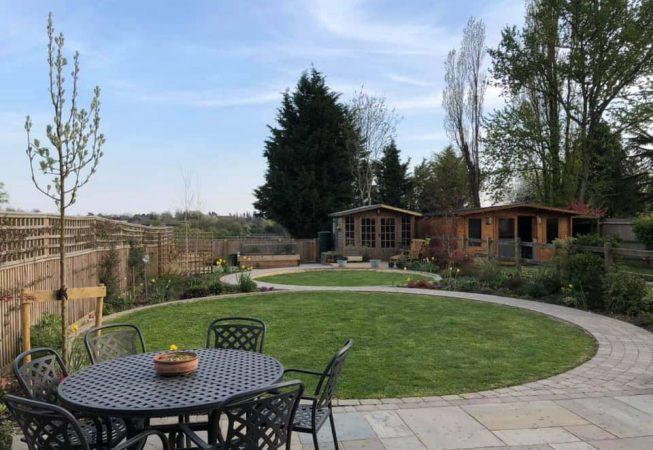 Barn Garden Amersham - After Installation